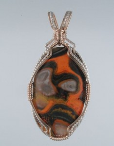 Bumblebee Jasper is not really a Jasper.  Finding bright orange Bumblebee is uncommon.