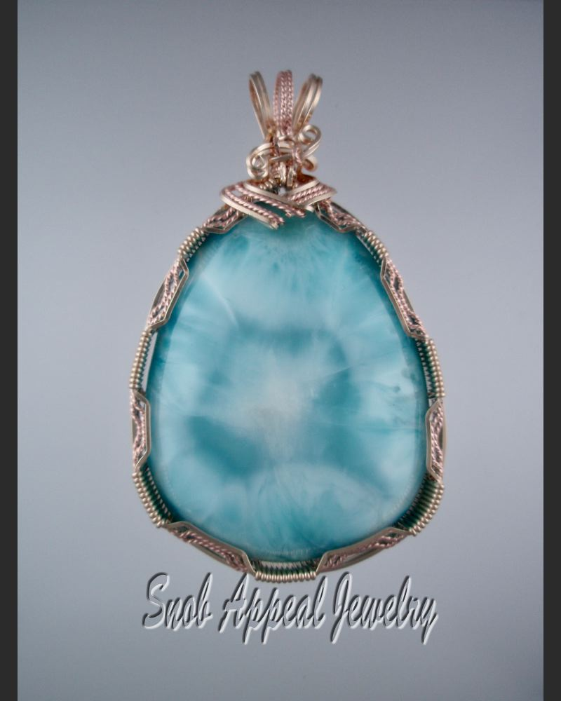 Beautiful Larimar Jewelry ( What I did with my Tucson buys-part 1 ...