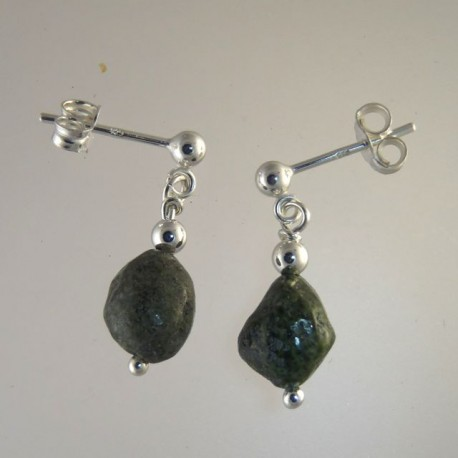 l iradj and black stone for v moini clip on id earrings jewelry sale green at