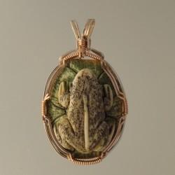 Amazing Amphibian Pendant