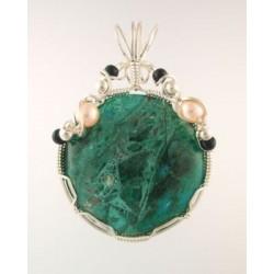 Chrysocolla Queen Pendant